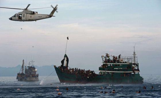 Milhares de asiáticos à deriva podem morrer nos próximos dias