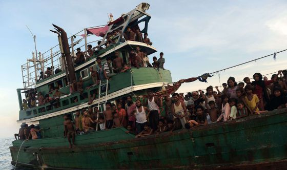 La crisis de los refugiados rohingya se agrava en el mar de Andamán