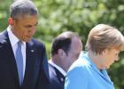 El G-7 arranca con mensajes de dureza contra Putin y Tsipras