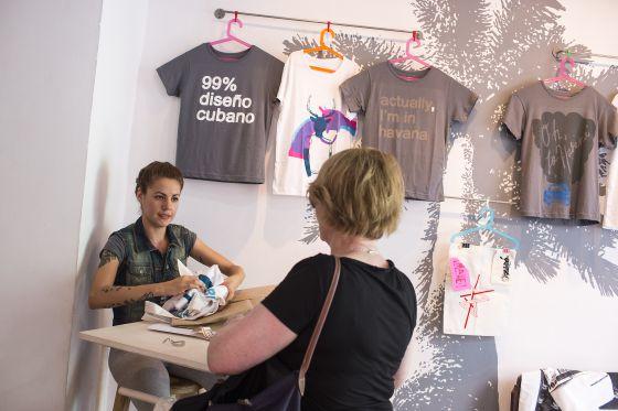 Tienda de diseño Clandestinas, abierta en febrero pasado en la popular calle Villegas.