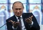 """Putin presume de haber evitado """"una profunda crisis"""" a la economía"""