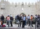Un palestino apuñala a un policía israelí en el centro de Jerusalén