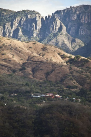 The Sinaloa mountain range, where the cartel was founded.