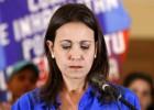 La opositora venezolana Machado desafía el veto a su candidatura