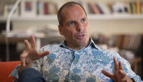 Yanis Varoufakis, exministro de Finanzas de Grecia.