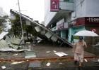 El tifón más potente del año paraliza Taiwán