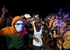 Un herido grave en el aniversario de la muerte del joven de Ferguson