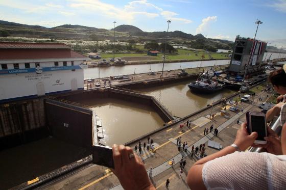 Imagen del Canal de Panamá