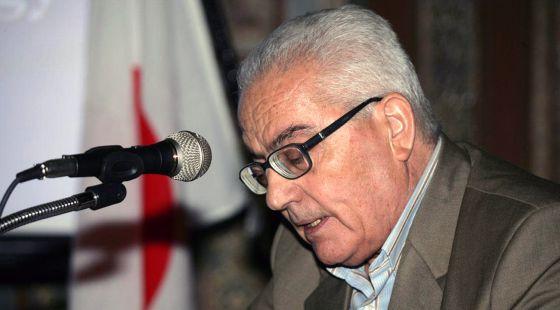 Jaled Asaad, en una imagen cedida por la agencia oficial siria, Sana.