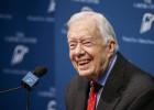 El expresidente Jimmy Carter padece cáncer en el cerebro