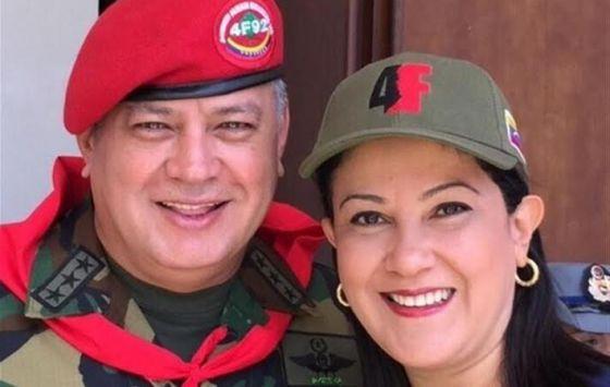 Marleny Contreras Diosdado Cabello