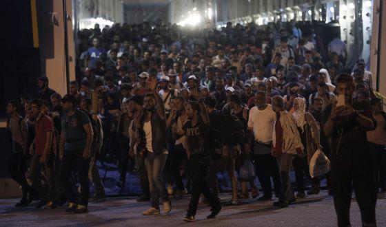 inmigración en Grecia