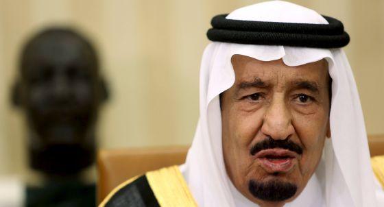 El rey saudí Salman bin Abdulaziz en Washington el pasado viernes