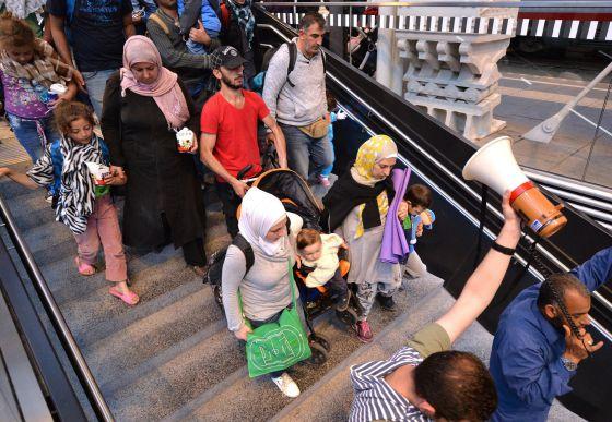 Refugiados en Salzburgo