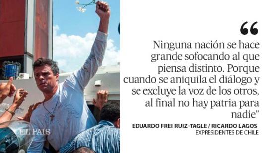 Saludo a los demócratas de Venezuela