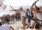 Bandas de jóvenes ponen en jaque la seguridad de las playas de Río
