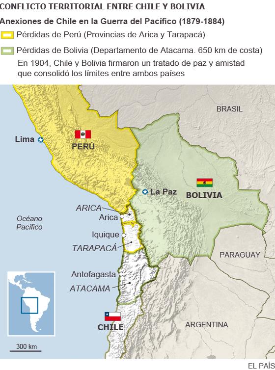 La Haya resolverá el diferendo fronterizo entre Bolivia y Chile