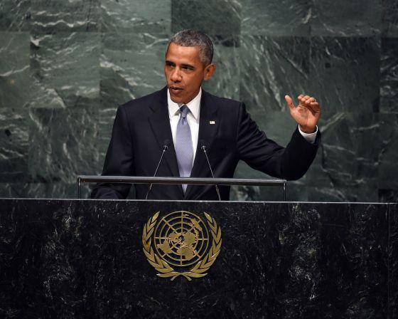 Obama acena a Putin na ONU por causa do impasse no conflito da Síria