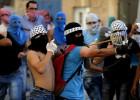 La Intifada palestina latente desde la guerra de Gaza se recrudece