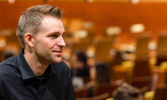 Max Schrems en la Corte de Justicia de Luxemburgo, el 6 de octubre de 2015.