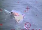 Sin rastro de supervivientes en el carguero atrapado en un huracán