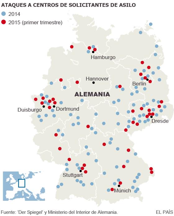 """20.000 alemanes exigen en la calle """"deportaciones masivas inmediatas"""""""