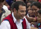Jimmy Morales, de la televisión a las puertas de la Presidencia
