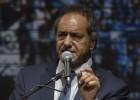 Scioli promete una gran bajada de impuestos en su cierre de campaña
