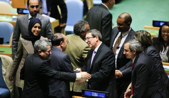El deshielo entre EE UU y Cuba se queda a las puertas de la ONU