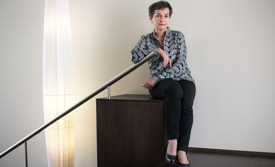 Christiana Figueres, responsable de cambio climático de la ONU