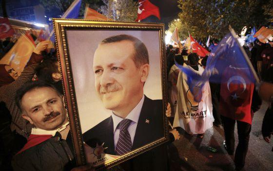 Turquia - Retrato de Erdogan