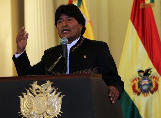 La mayoría de los bolivianos rechaza la reelección de Morales