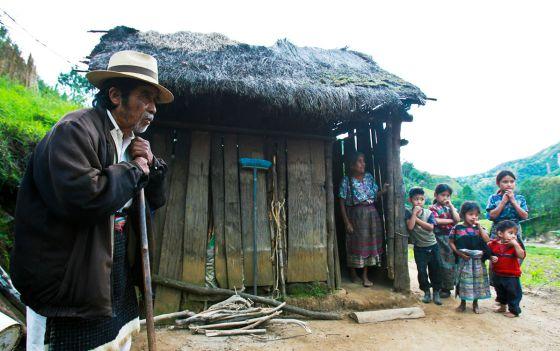 Familia en Chimaltenango, Guatemala