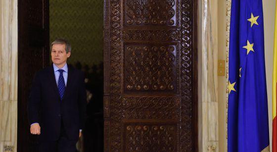 Dacian Ciolos, nuevo primer ministro rumano, este martes en Bucarest.