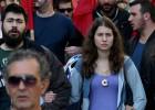 Primera huelga general en Grecia contra la austeridad de Tsipras