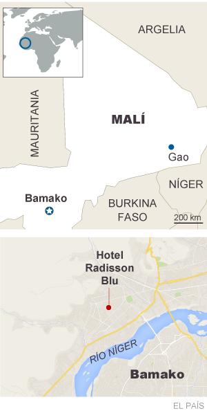 ¿Dónde está Malí?