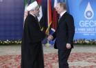 Putin y Jamenei reafirman en Teherán su apoyo al régimen sirio