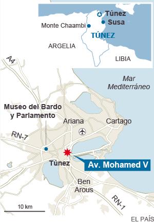 Atentado en Tunez