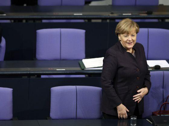 La canciller Angela Merkel