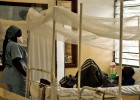 Centro de tratamiento del VIH de Médicos sin Fronteras en Lingana (República Democrática del Congo) el lunes 30 de noviembre.