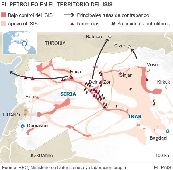 Rusia vincula a Erdogan y su familia con el comercio del petróleo del ISIS