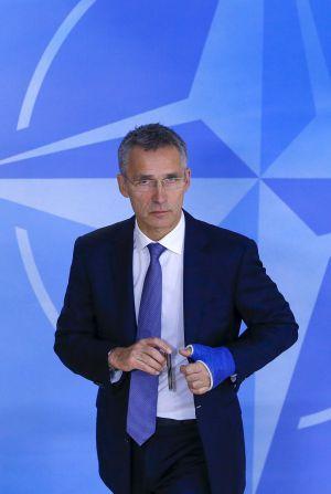 Jens Stoltenberg, en Bruselas
