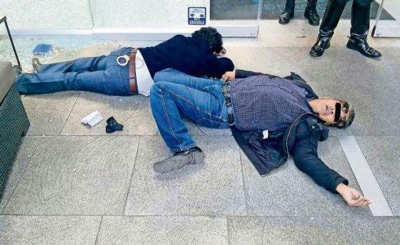 Los dos policías del DF abatidos en el tiroteo
