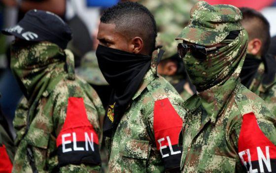 Guerrilla del ELN.