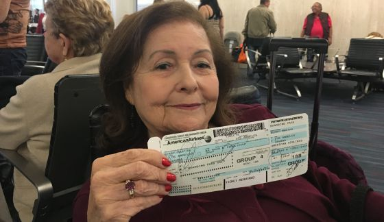 Marta Berry volvía este sábado a Cuba por primera vez en 60 años.