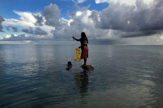 Kiribati es un archipiélago del Pacífico especialmente vulnerable al calentamiento global