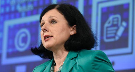 La comisaria de Justicia, Vera Jourová