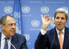 Kerry y la oposición siria admiten dificultades sobre el plan de paz