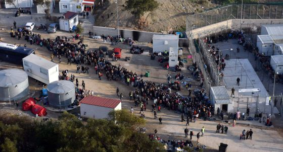 El 'hotspot' de Lesbos es el único operativo.