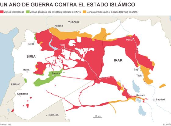 La reconquista de Ramadi erosiona el poder territorial del Estado Islámico